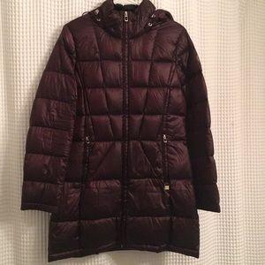 Calvin Klein lightweight down coat